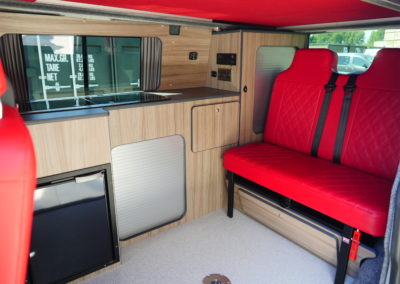 Camper van Conversion campervan interior