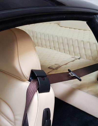 Ferrari Upholstery Diamond Stitching