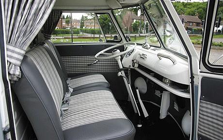 VW Split Screen Front seating